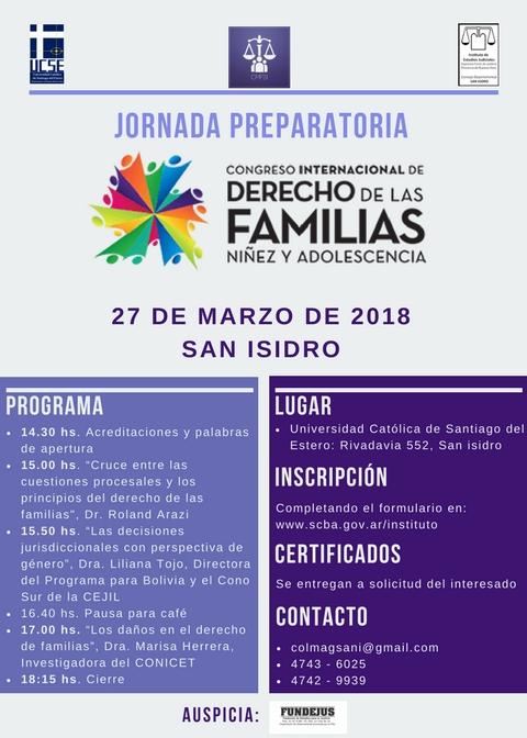 26-3-18 Pre Congreso San Isidro
