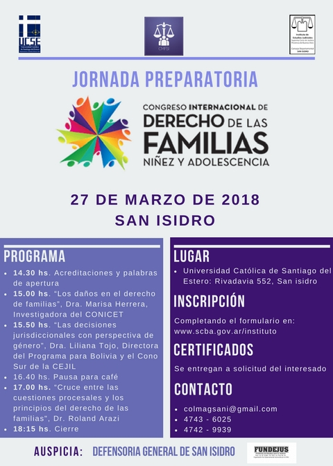 27-03-18 Jornada Preparatoria Congreso Internacional