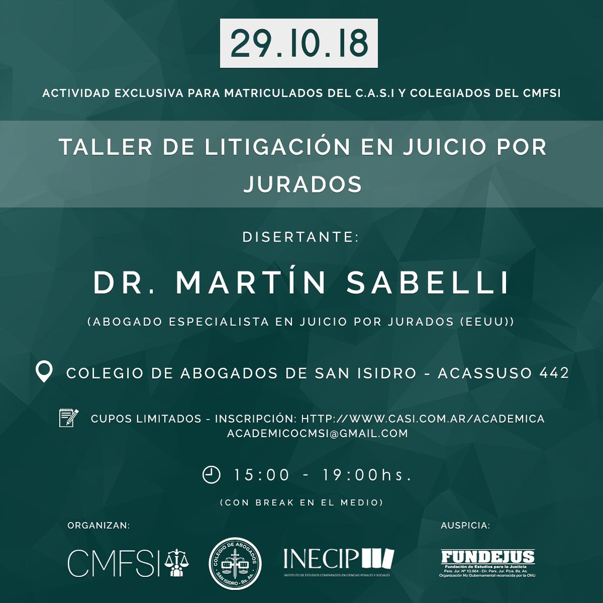 TALLER JUICIO POR JURADOS WEB