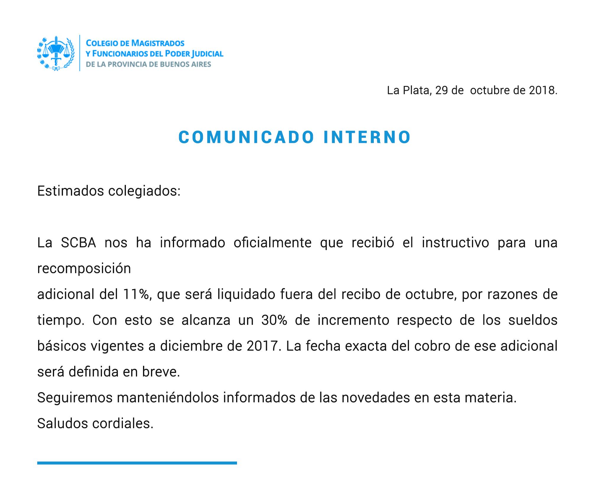 comunicado salarios 29 - 10