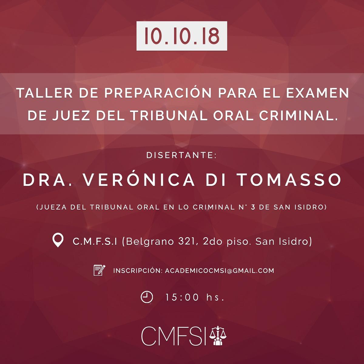 preparacion juez de tribunal oral criminal